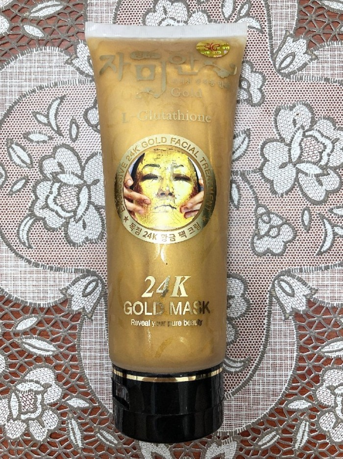 Mặt nạ dưỡng da 24K Gold Mask xách tay Thái Lan2
