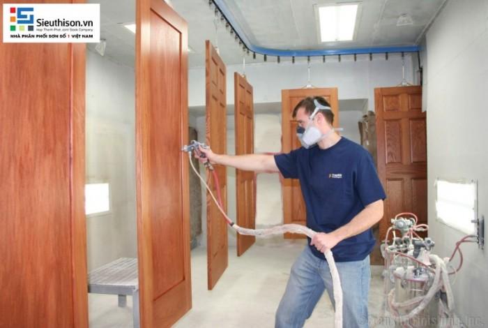 nước sơn pu gỗ CADIN0