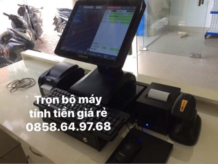 Cung cấp trọn bộ máy tính tiền giá rẻ cho shop Balo tại BMT0