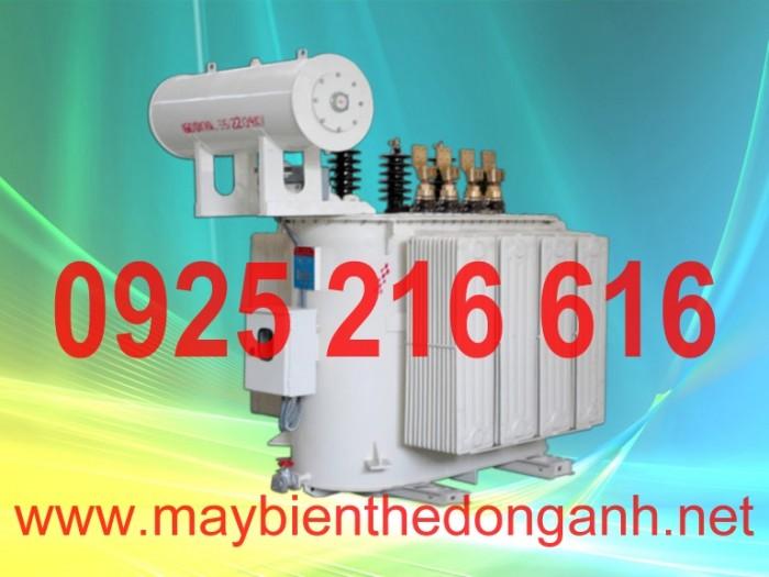 Máy biến áp 630kVA-35/0.4kV0