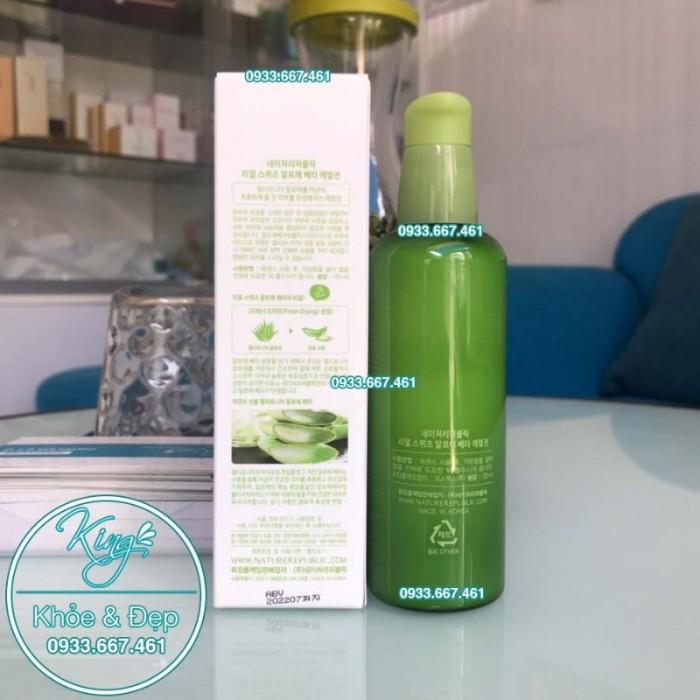 Sữa Dưỡng Nature Republic Real Squeeze Aloe Vera Emulsion2