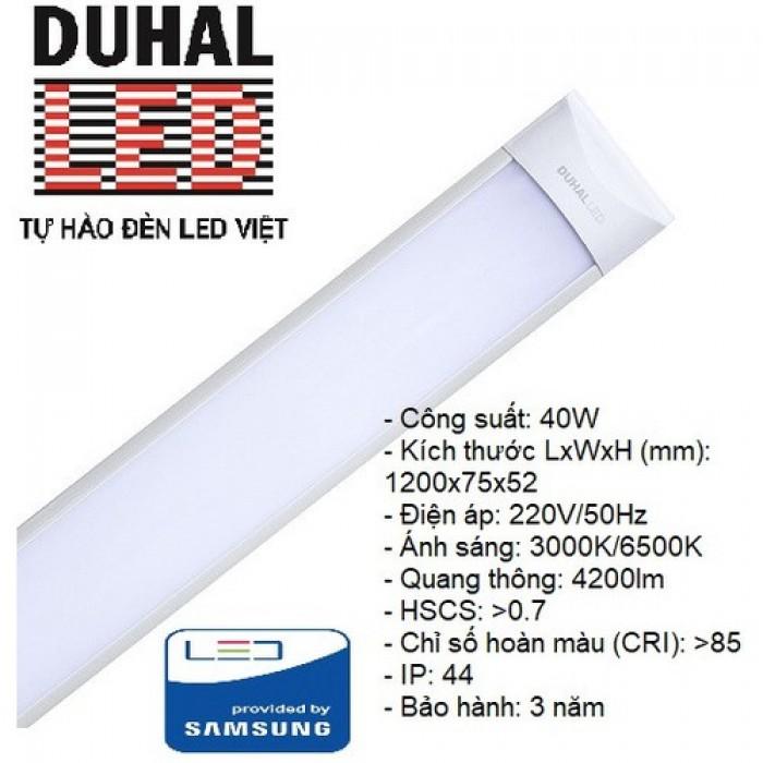Đèn LED Ốp Trần Chụp MiCa 40W – KDLD8404