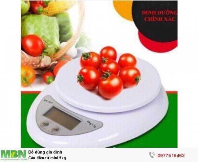 Cân định lượng tiểu ly 5kg0