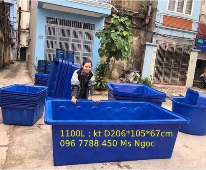 Thùng nhựa 1100 lít nuôi cá cảnh LHe 0967788450 Ngọc0