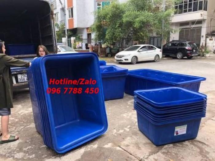 Thùng nhựa 1100 lít nuôi cá cảnh LHe 0967788450 Ngọc1