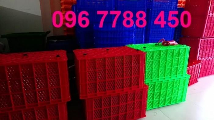Rổ nhựa 5 bánh xe đựng hàng may mặc LHe 0967788450 Ngọc3