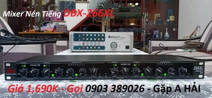 Mixer nén tiếng DBX-226XL Lọc mịn âm thanh, tạo độ ấm, chuẩn, chắc tiếng Kiểm soát tốt lực đánh bảo vệ loa0