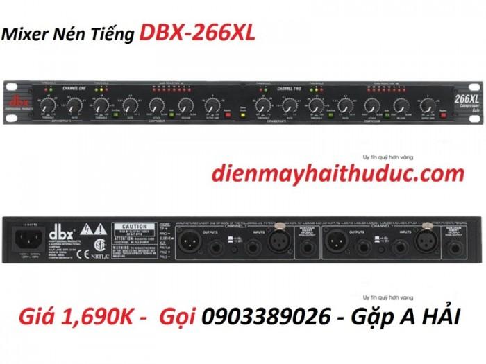 Mixer nén tiếng DBX-226XL có thiết kế đơn giản, nhỏ gọn, đẹp mắt4