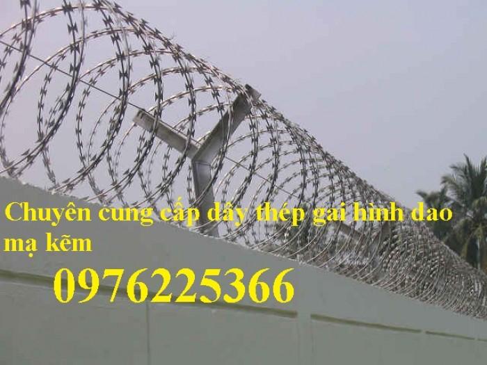 Đại lý phân phối dây thép gai hình dao, nhận ship hàng toàn quốc3