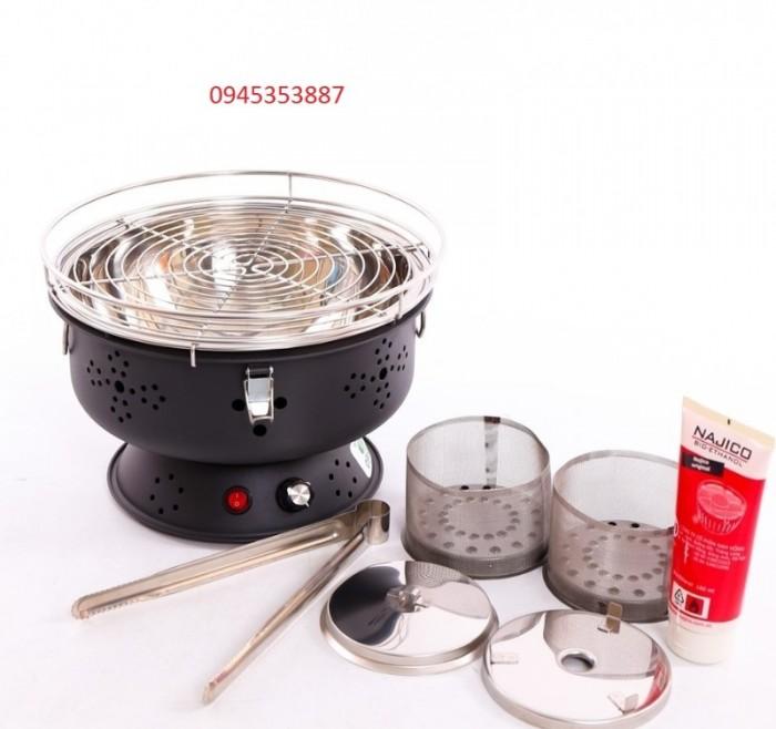 Bếp nướng than hoa không khói BN300 hàng chính hãng0
