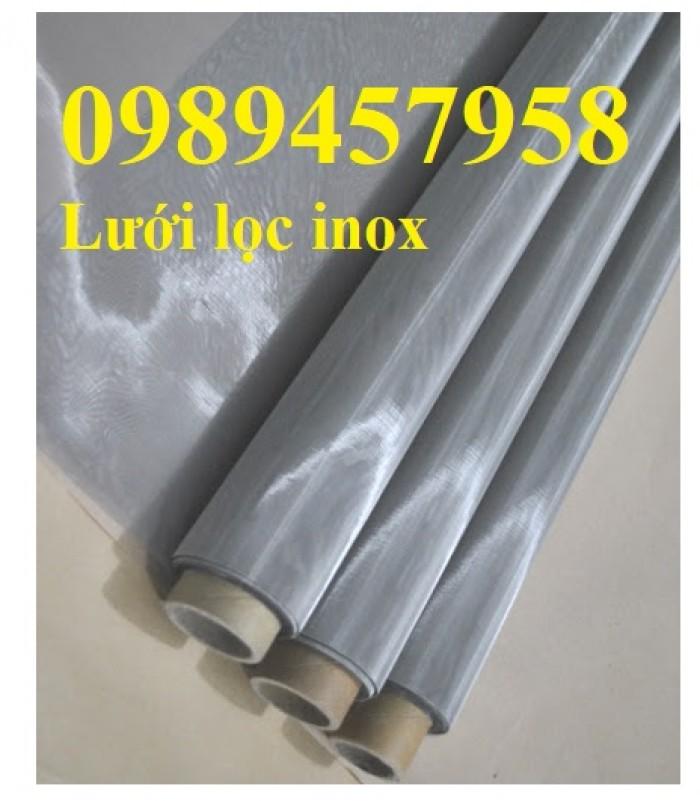 Lưới lọc inox 304 size 50mesh, 60mesh, 80mesh, 100mesh/ink mới 100%