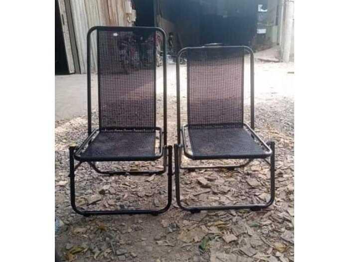 Bàn ghế xếp lưới giá tại xưởng sản xuất