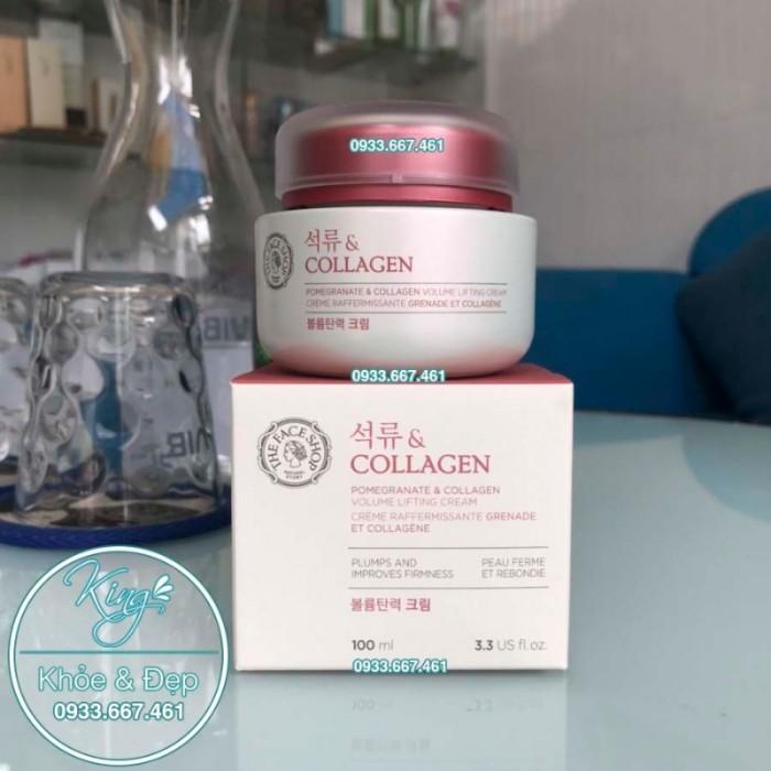 Kem Dưỡng Da Pomegranate Và Collagen Volume Lifting Cream0