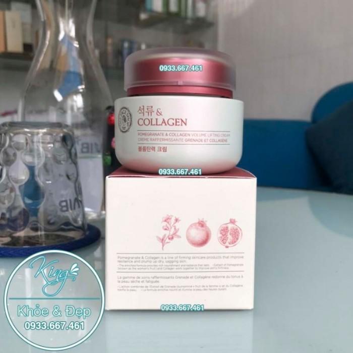 Kem Dưỡng Da Pomegranate Và Collagen Volume Lifting Cream3