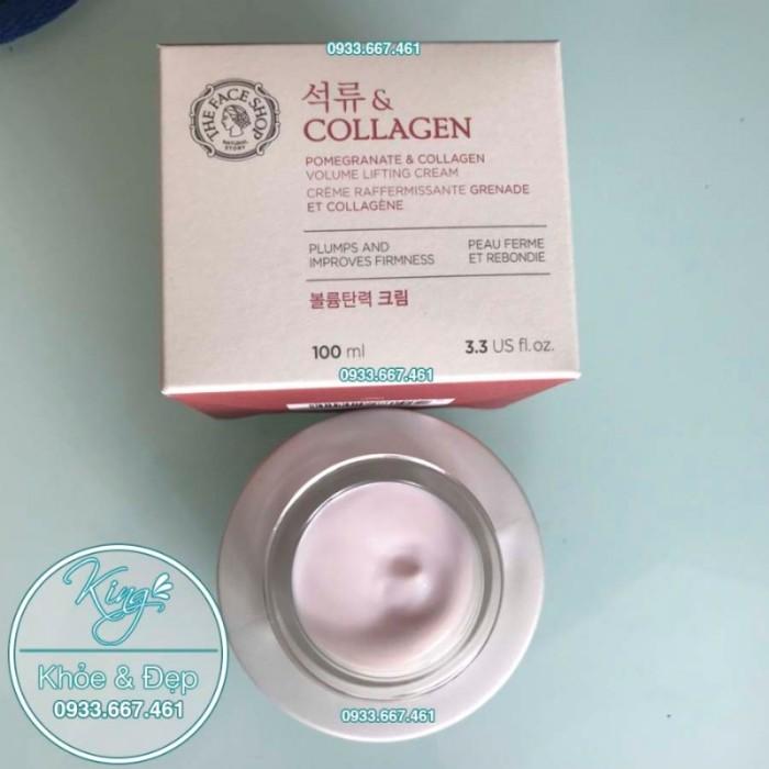 Kem Dưỡng Da Pomegranate Và Collagen Volume Lifting Cream4