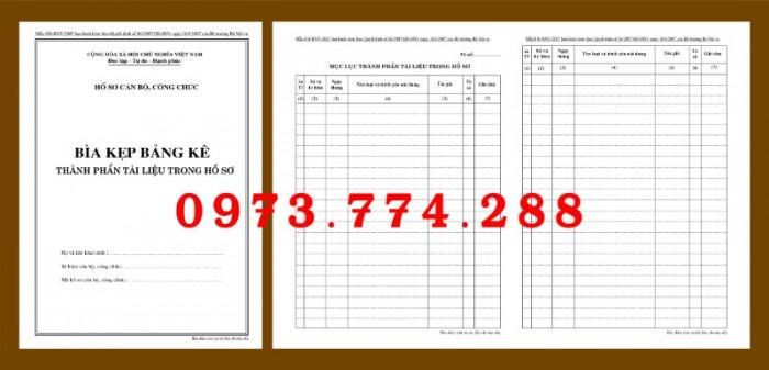 Bìa kẹp nhận xét, đánh giá, đơn thư (BNV) ban hành4