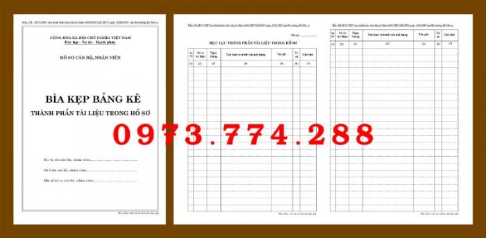 Bìa kẹp nhận xét, đánh giá, đơn thư (BNV) ban hành11