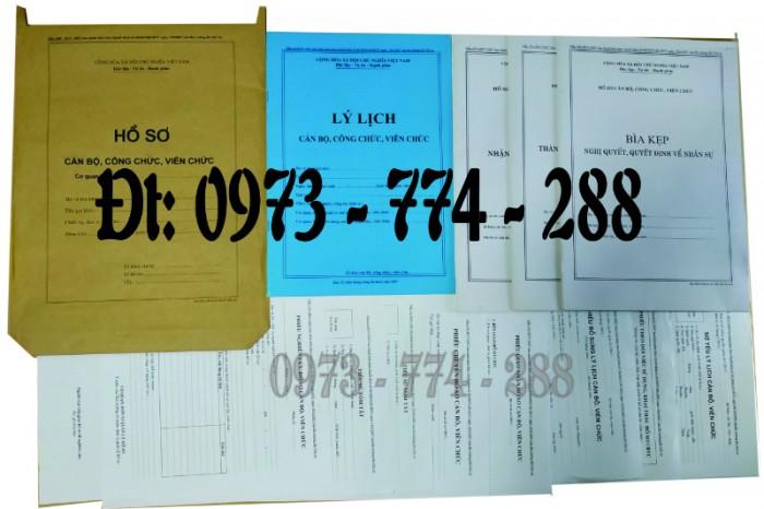 Bìa kẹp nhận xét, đánh giá, đơn thư (BNV) ban hành18