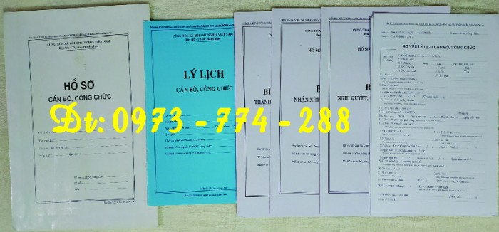 Bìa kẹp nhận xét, đánh giá, đơn thư (BNV) ban hành20