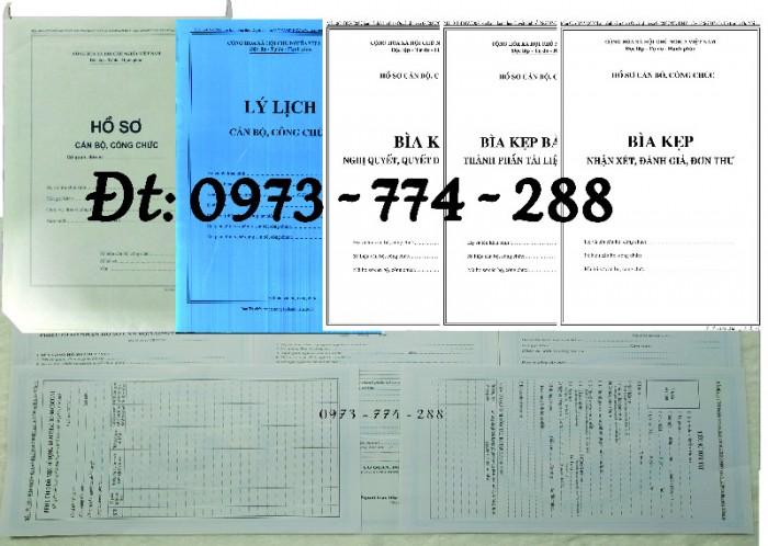 Bìa kẹp nhận xét, đánh giá, đơn thư (BNV) ban hành22