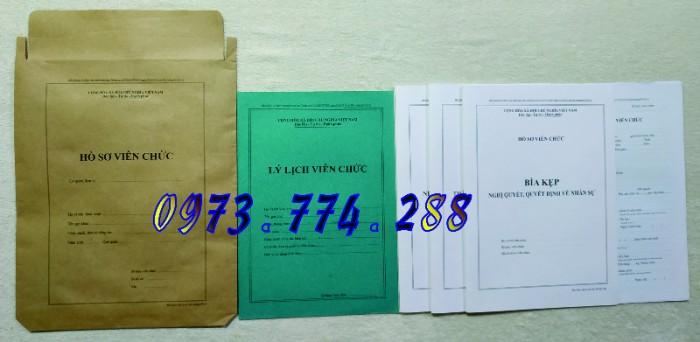 Bộ hồ sơ cán bộ công chức, viên chức, quảng cáo mẫu đẹp chuẩn4