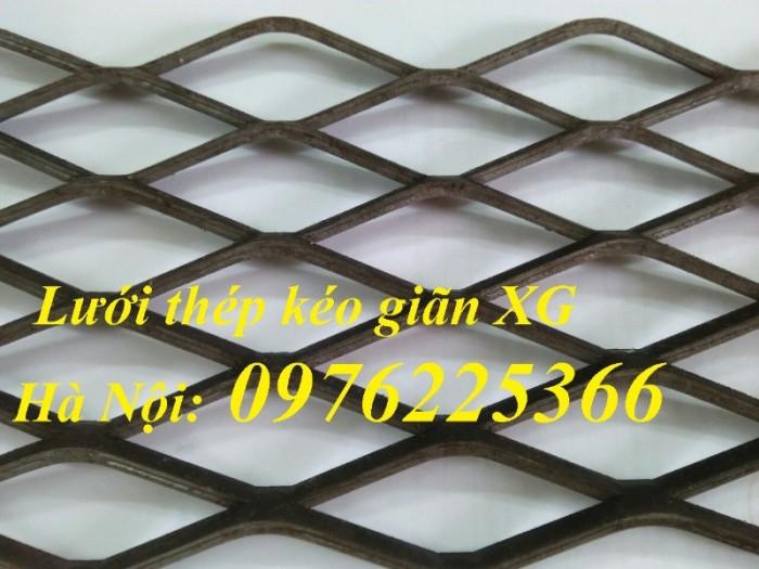 Lưới thép kéo giãn, lưới dập giãn xg19, xg20, xg21...xg41, xg42, xg43, xg442