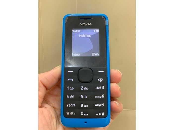 Điện Thoại Nokia 105 chính hãng0