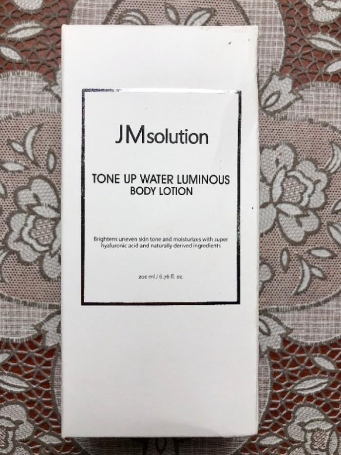 Sữa dưỡng da toàn thân JM Solution Tone Up Water Luminous Body Lotion3