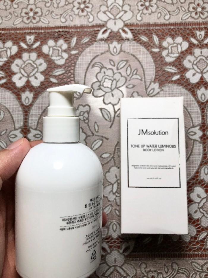 Sữa dưỡng da toàn thân JM Solution Tone Up Water Luminous Body Lotion2