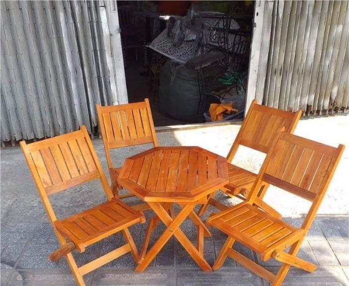 Bộ bàn ghế cafe mini AK020