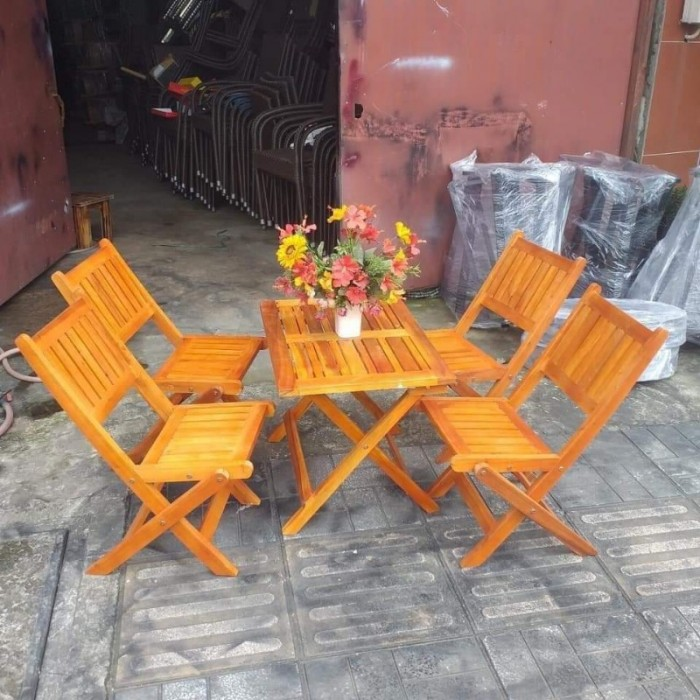 Bộ bàn ghế cafe mini AK024