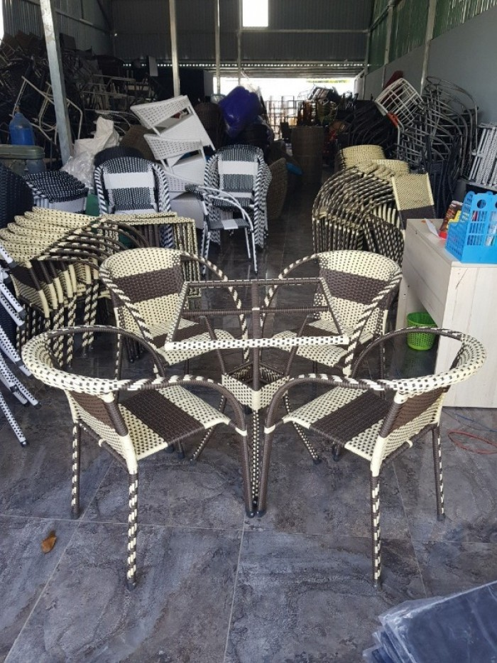 Bộ bàn ghế cafe sân vườn AK04