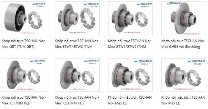 Khớp nối mềm ormex TNM, khớp nối TSCHAN2