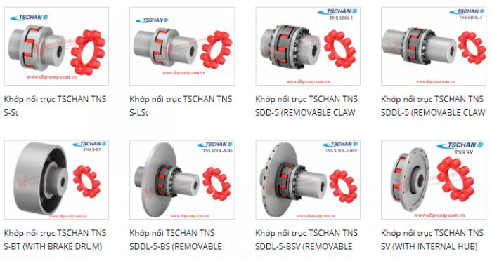 Khớp nối mềm ormex TNM, khớp nối TSCHAN5