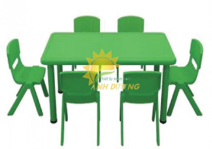 Chuyên cung cấp bàn ghế nhựa cao cấp cho bé mầm non giá rẻ, chất lượng cao4
