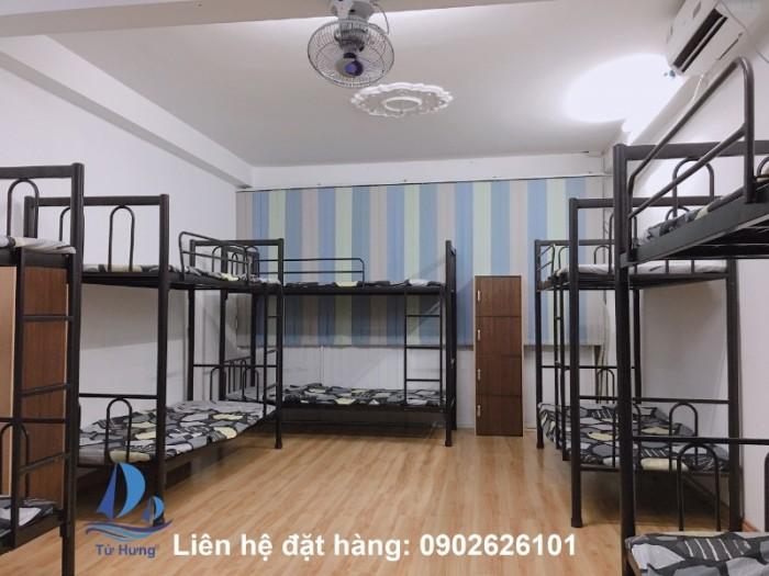 giường tầng sắt giá rẻ0