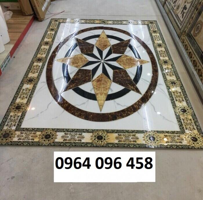 Gạch thảm 3d trang trí phòng khách - 66R0