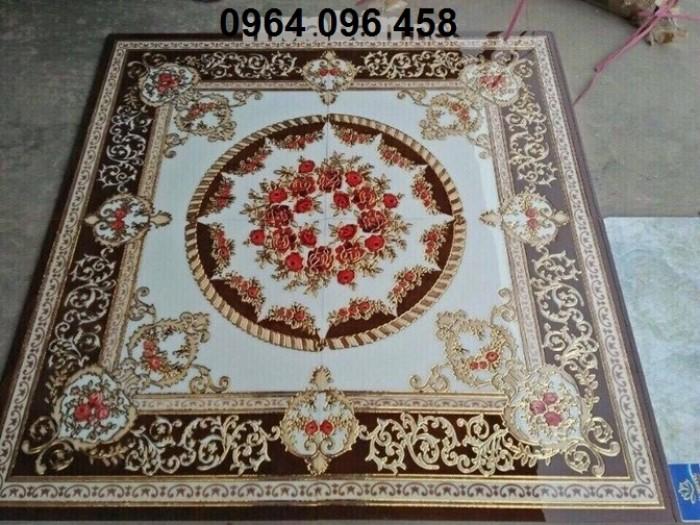 Gạch thảm 3d trang trí phòng khách - 66R3