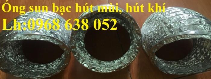 Ống bạc lắp quạt thông gió nhà bếp D75, D100, D125, D150, D175, D2000