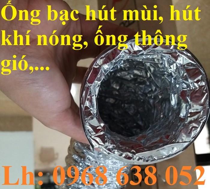 Ống bạc lắp quạt thông gió nhà bếp D75, D100, D125, D150, D175, D2003