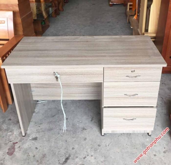 Bàn văn phòng làm việc gỗ melamine hiện đại3