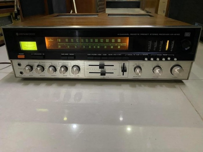 AMPLI KENWOOD KR-81400