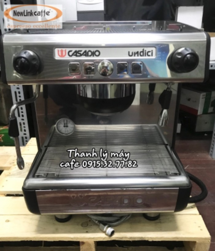 Cần thanh lý máy pha cà phê Casadio 14
