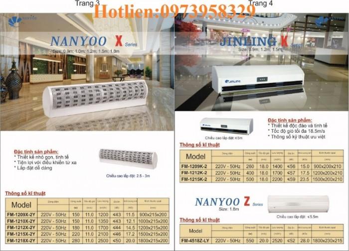 Quạt cắt gió , chắn gió Nanyo FM-1209X-2/Y, FM-1210X-2/Y,FM-1212X-1/Y,FM-12150