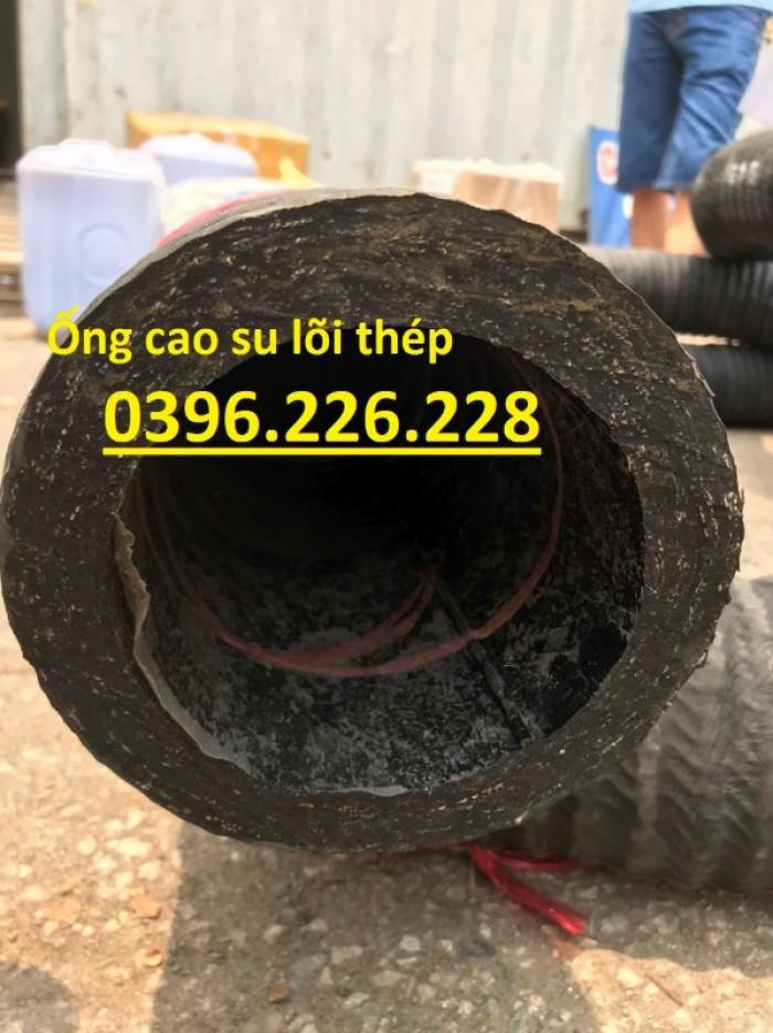 Chuyên sản xuất và phân phối ống cao su lõi thép đường kính 2500
