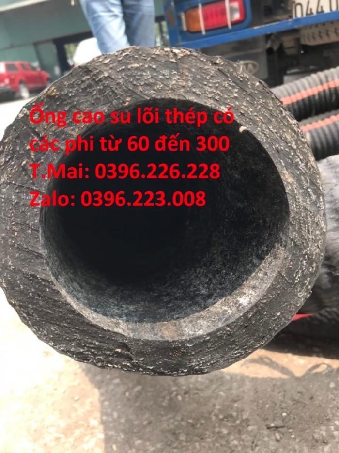 Chuyên sản xuất và phân phối ống cao su lõi thép đường kính 2502