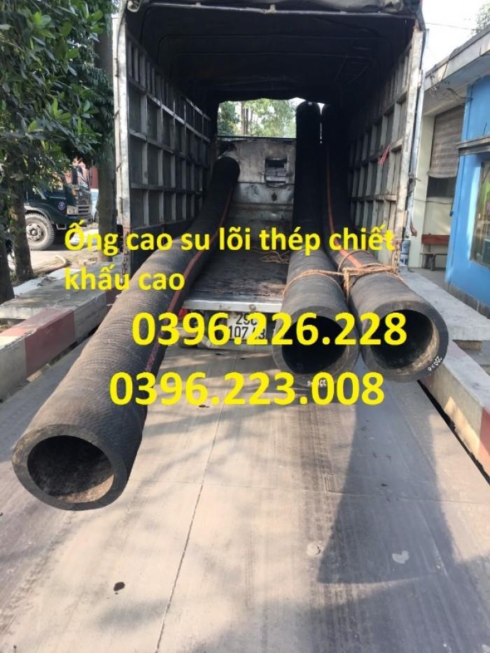 Chuyên sản xuất và phân phối ống cao su lõi thép đường kính 2504