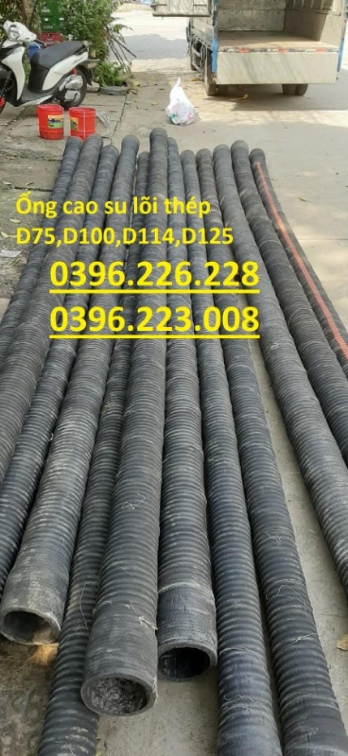 Chuyên sản xuất và phân phối ống cao su lõi thép đường kính 2505