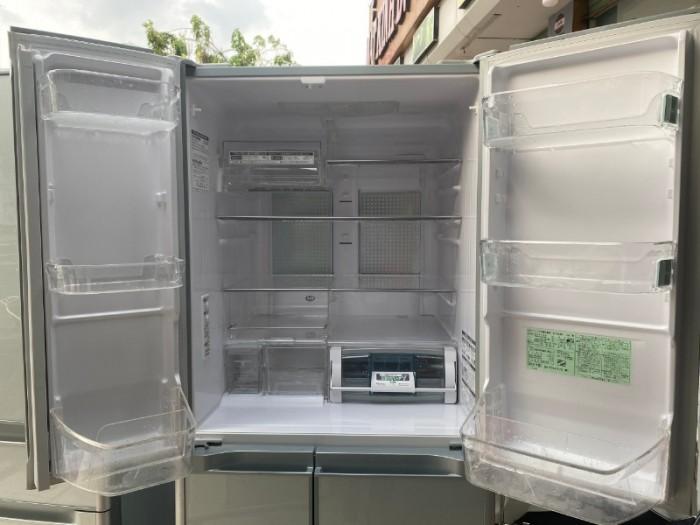 Tủ lạnh HITACHI R-Y5400 543L mặt gương , hút chân không, cửa trợ lực1