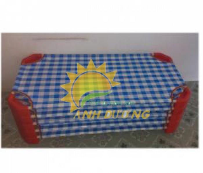 Chuyên cung cấp giường ngủ lưới thoáng mát cho trường lớp mầm non, gia đính5